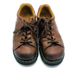 Dr. Martens   Brown Leather Oxford Lace up Shoe 11